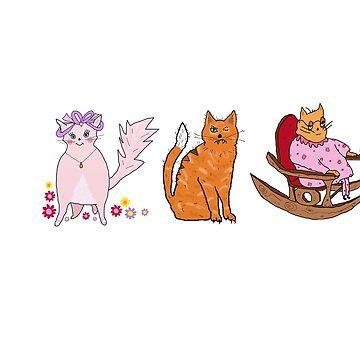 Three main characters!  by KenKronberger