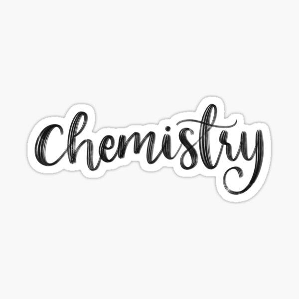 Chemistry - Folder/Binder Sticker Sticker