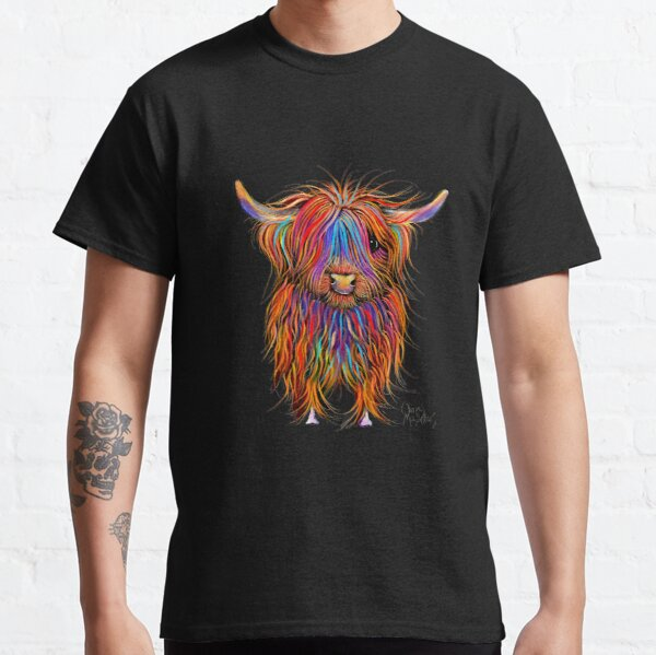 CoW PRiNT SCoTTiSH HiGHLaND ' PuMPHReY ' BY SHiRLeY MacARTHuR Classic T-Shirt