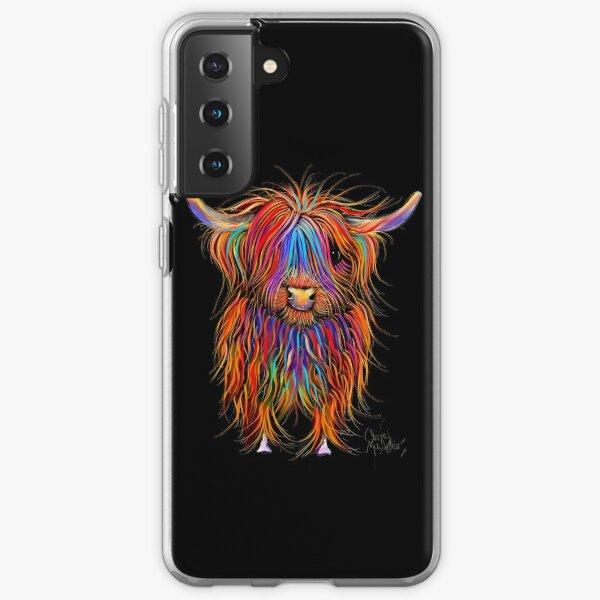 CoW PRiNT SCoTTiSH HiGHLaND ' PuMPHReY ' BY SHiRLeY MacARTHuR Samsung Galaxy Soft Case