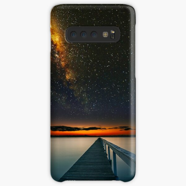Milky Way over Long Jetty Samsung Galaxy Snap Case