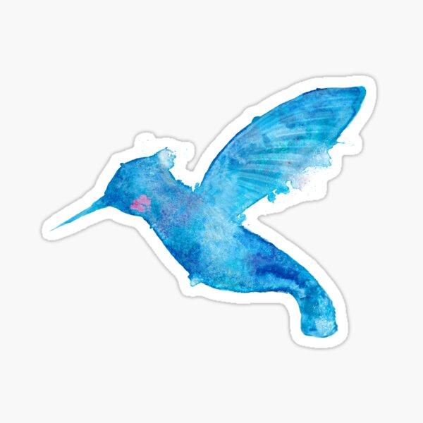 Water Hummingbird Sticker