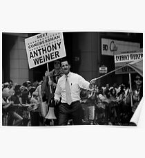 Meet Congressman Anthony Weiner, Gay Pride, June 2009 Poster