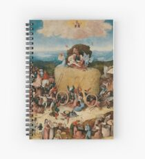 The Hay Wain - Hieronymus Bosch  Spiral Notebook