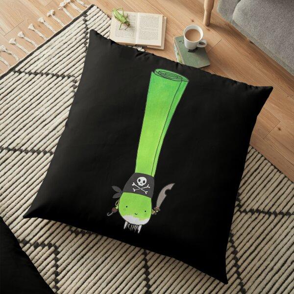 Pirate Leek Floor Pillow