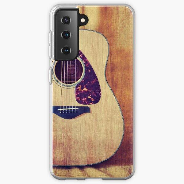 Guitar Portrait Samsung Galaxy Soft Case