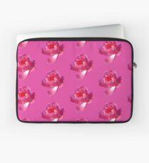 Blooming Pink Rose Laptop Sleeve