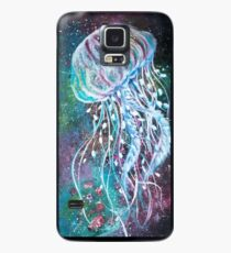 Space Floral Jellyfish  Case/Skin for Samsung Galaxy