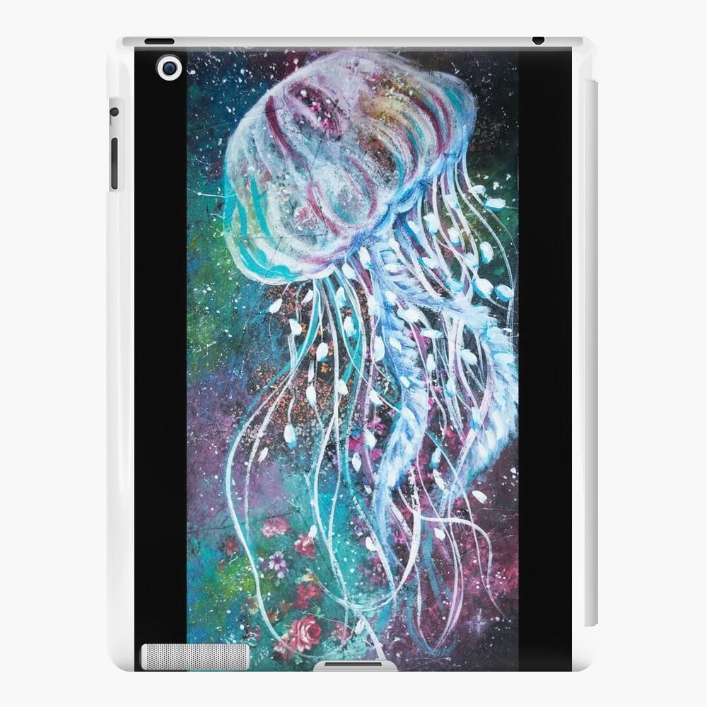 Espacio Medusas florales Vinilos y fundas para iPad