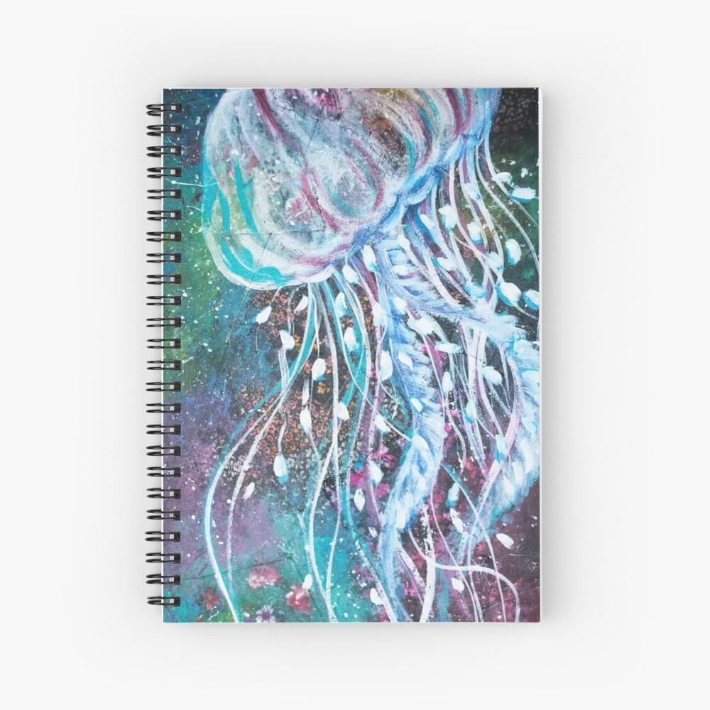 Espacio Medusas florales Cuaderno de espiral