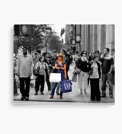 Gap Girl:  I Remember When I Shopped at DIOR Canvas Print