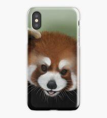 Cute Red Panda iPhone Case