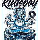 Ganesha Rude Boy (Weißer BG) von Vecster