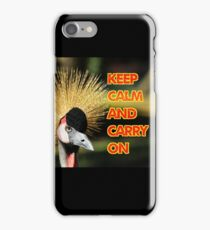 Keep Calm and Carry on iPhone 7 Case