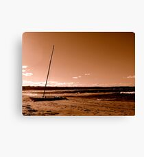 Deserted - The Congo, New South Wales Canvas Print