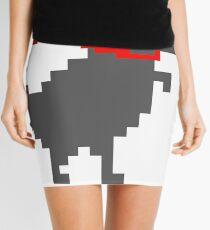 Refactorsaurus Rex Logo + Black Text Mini Skirt