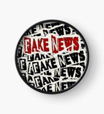 FAKE NEWS FAKE NEWS FAKE NEWS Clock