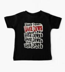 FAKE NEWS FAKE NEWS FAKE NEWS Baby Tee