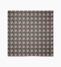 Scallop shell repeat on black Scarf