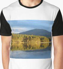Loch Garten, Scotland Graphic T-Shirt