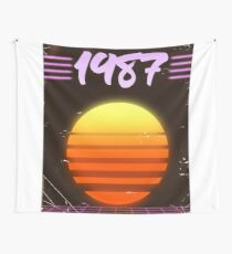 1987 Sonnenuntergang Wandbehang