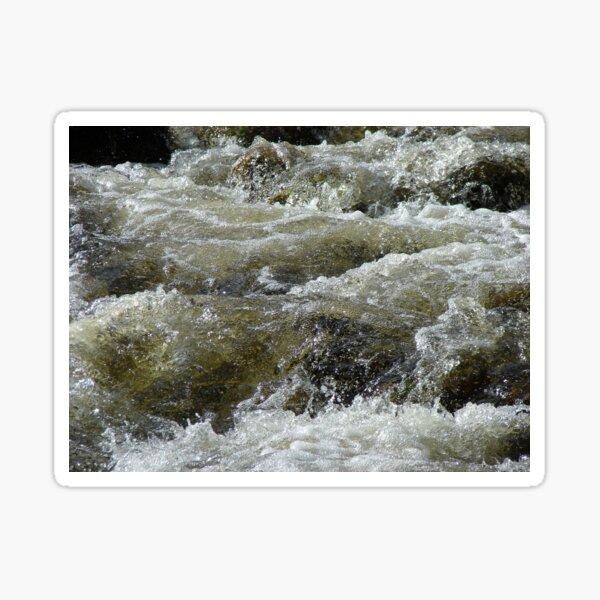 Mountain Stream Sticker