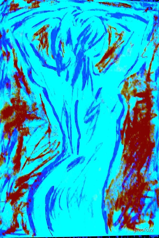 blue nude by jimofozz