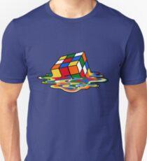 Melting Rubiks Cube: Sheldon aus 'The Big Bang Theory' Cool Nerdy Geschenkideen! Unisex T-Shirt