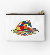 Melting Rubiks Cube: Sheldon from 'The Big Bang Theory' Cool Nerdy Gift Ideas! Studio Pouch