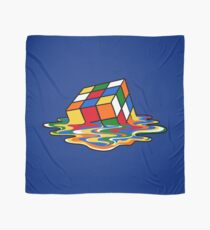 Melting Rubiks Cube: Sheldon from 'The Big Bang Theory' Cool Nerdy Gift Ideas! Scarf