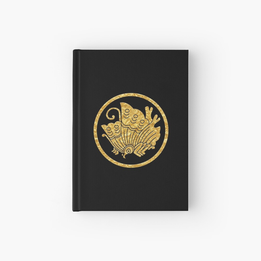 Japanese Mon Ageha Cho Hardcover Journal By Takeda Art Redbubble