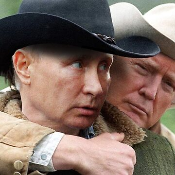 Trump/Putin Brokeback Mountain love  by MARTINFARTIN