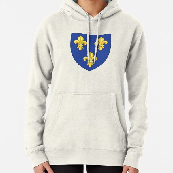 France Text Flag French Pride Française Fierté 2-tone Hoodie Pullover