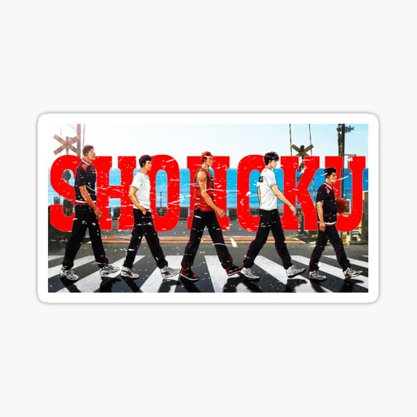 Shohoku Crossing (Distressed) Sticker