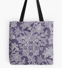 Lilies. Pattern. Lace. Tote Bag