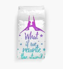 Greatest Showman Rewrite The Stars Duvet Cover