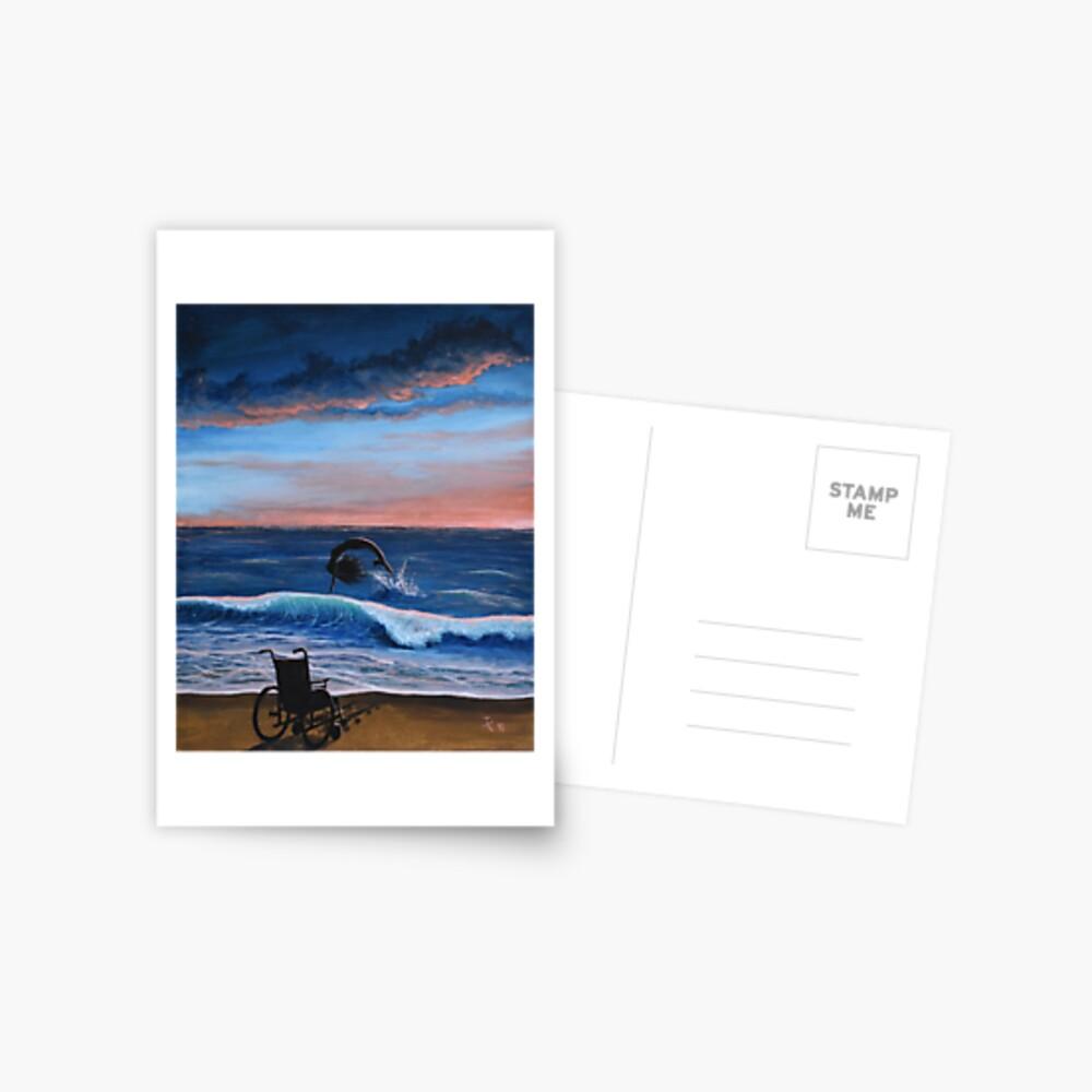 """Transformation"" Postcard"