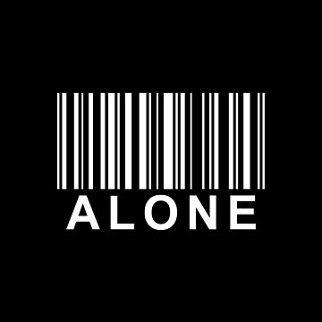 Barcode (Alone) by SheikVisions