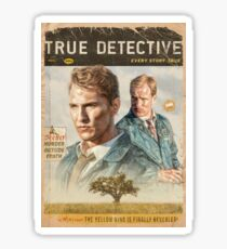 True Detective Season 1 Sticker