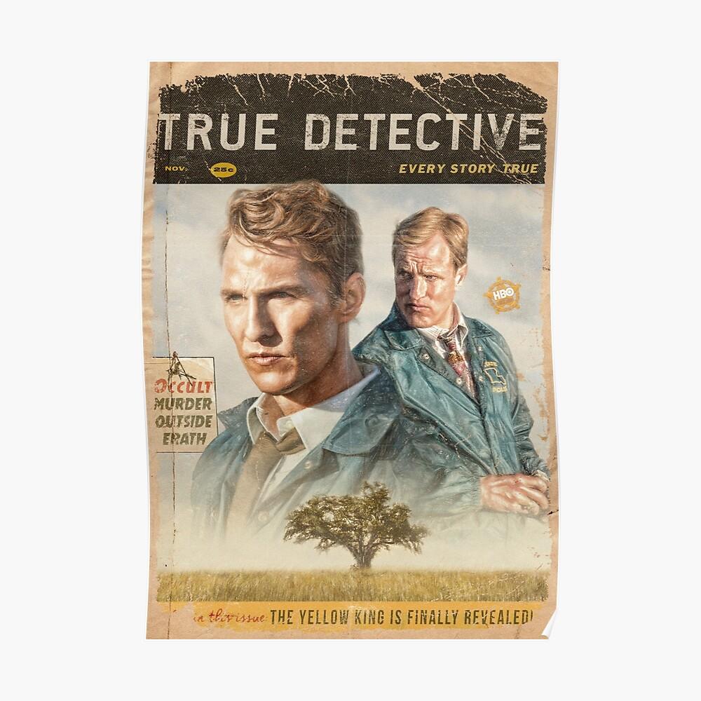 Wahre Detektiv Staffel 1 Poster