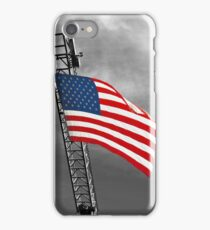 'Tis the star-spangled banner! Oh long may it wave!  O'er the land of the free and the home of the brave! iPhone Case/Skin