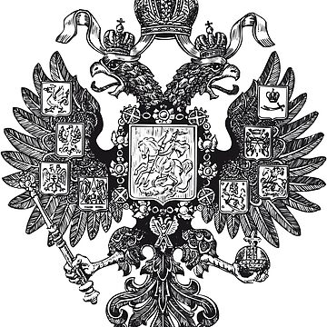 Coat of arms of the Russian Empire Russia eagle by Margarita-Art