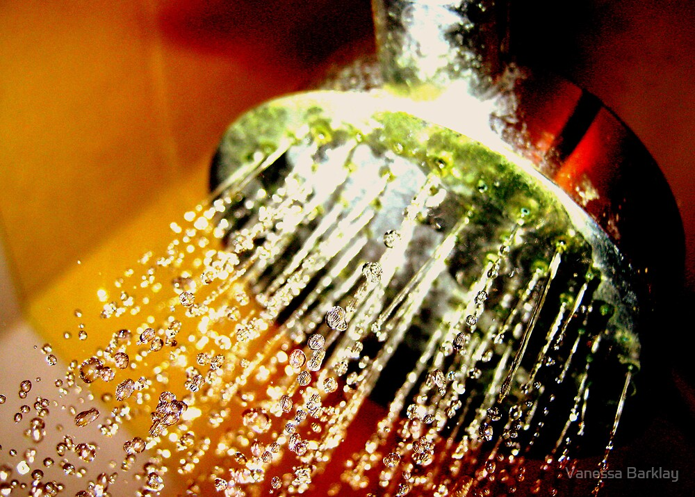 Colour In The Shower by Vanessa Barklay
