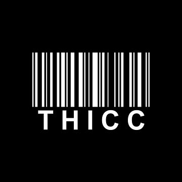 Barcode (Thicc) by SheikVisions
