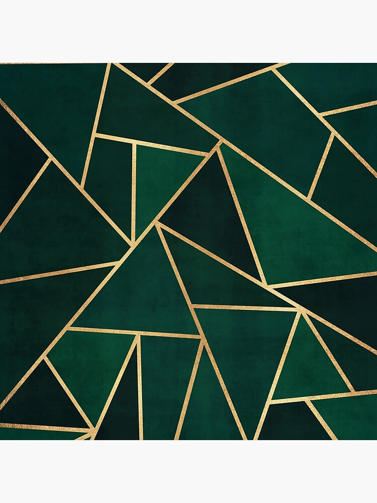 Green & Gold Pattern by banginT