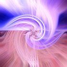 Awesome Light Fibers Show Of Twirls by daphsam