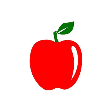 Teacher Apple Minimalist by jrdesign1