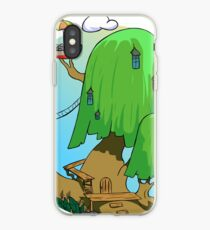 Tree house Adventure time iPhone Case
