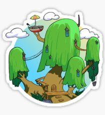Tree house Adventure time Sticker