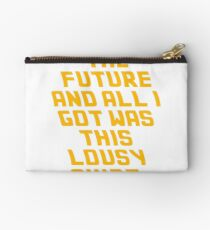 Back To The Future Lousy Shirt Studio Pouch